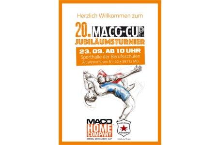 Maco-Cup feiert zwanzigstes Jubliäum